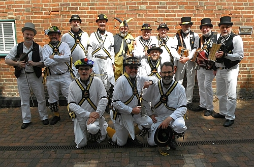 Grand Union Morris Group Photograph